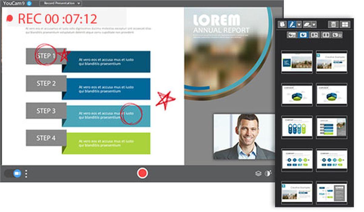 YouCam 9 Deluxe prouve qu'il reste le meilleur logiciel de webcam sous Windows. Une pléthore d'options pour améliorer vos effets vidéo avec votre webcam.