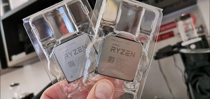 La sortie de deux processeurs, AMD Ryzen 3 3300X et 3100, amènent une véritable révolution dans les processeurs pas cher pour le gaming.