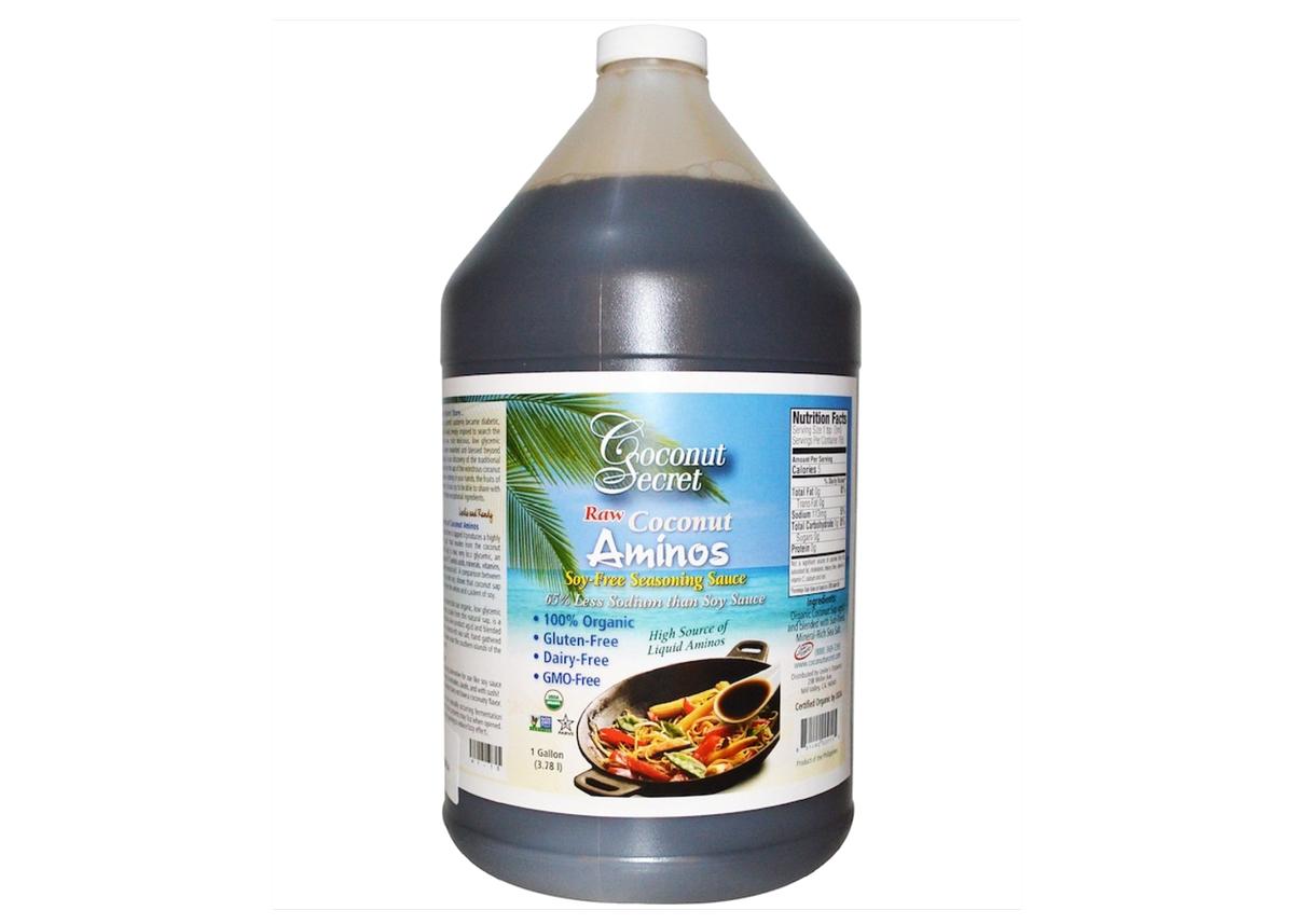 Les aminés de noix de coco font partie des sauces asiatiques pour améliorer n'importe quel plat.