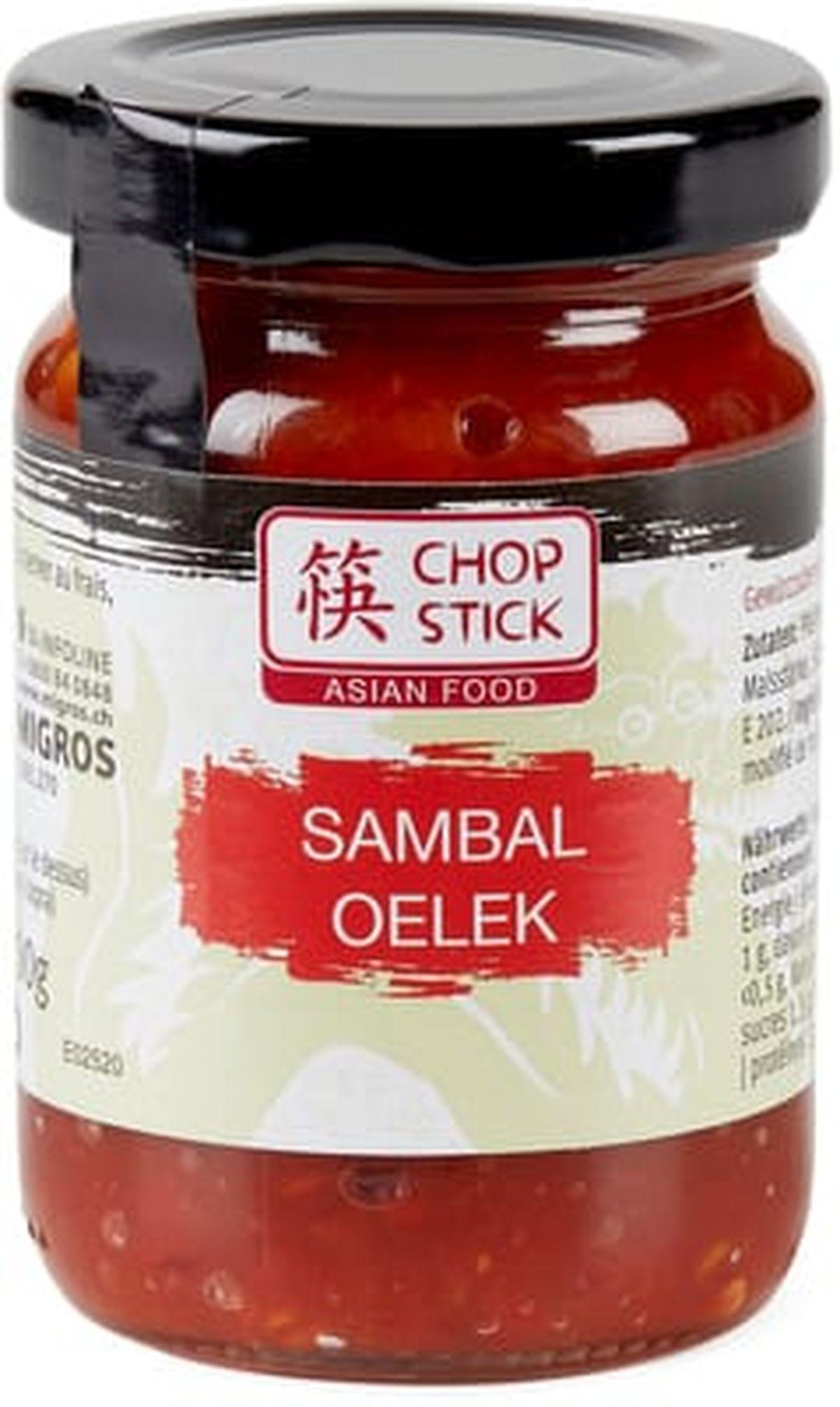 Le Sambal Oelek fait partie des sauces asiatiques pour améliorer n'importe quel plat.