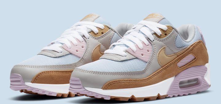 Nike Air Max 90 Femme Pastel DD6615-100 - Comparaland