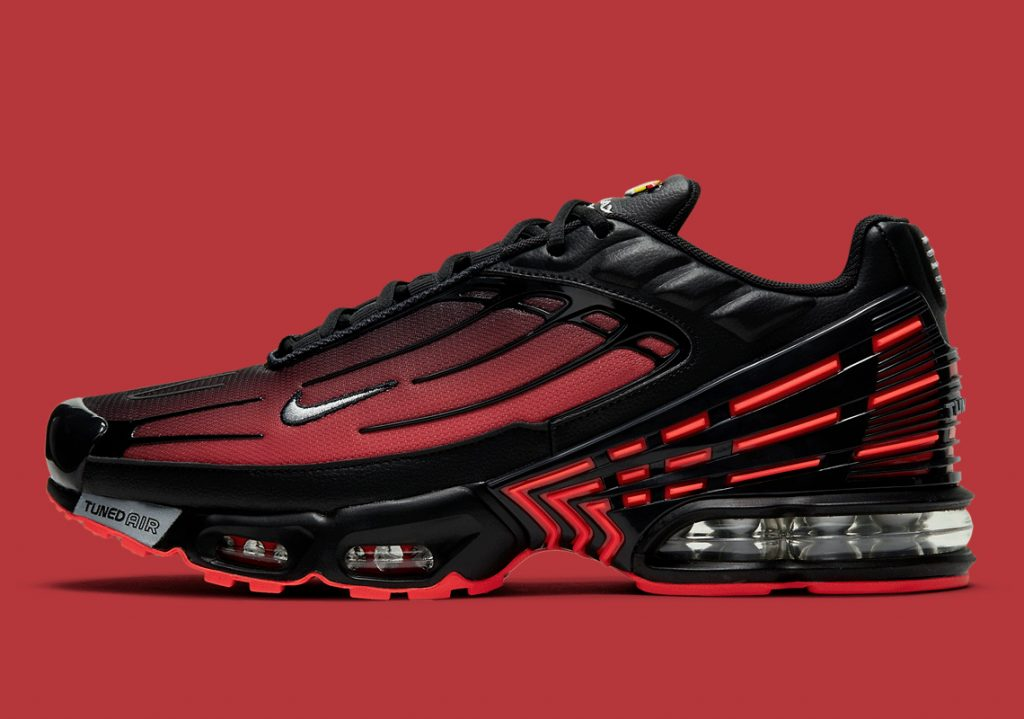 Nike Air Max Plus 3 Radiant Rouge Noir CT1693-002 - Comparaland