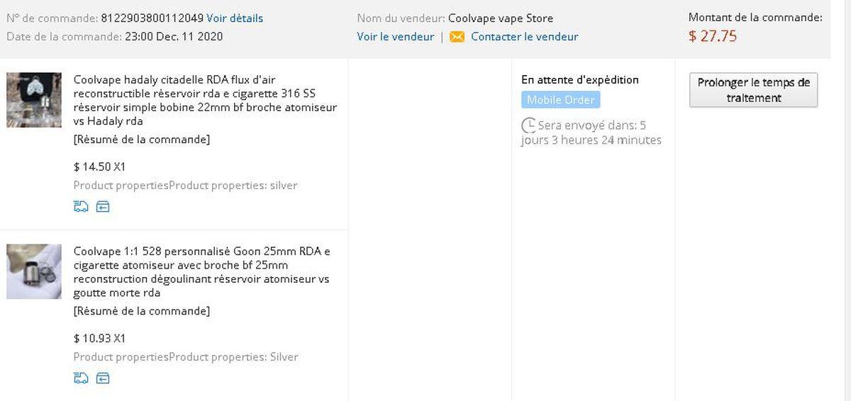 Petit retour sur des achats sur AliExpress à Madagascar avec la carte mVola. Résumé rapide, ça marche !